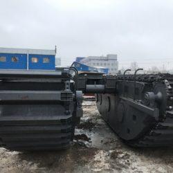 Понтоны для экскаватора 14-16 тонн